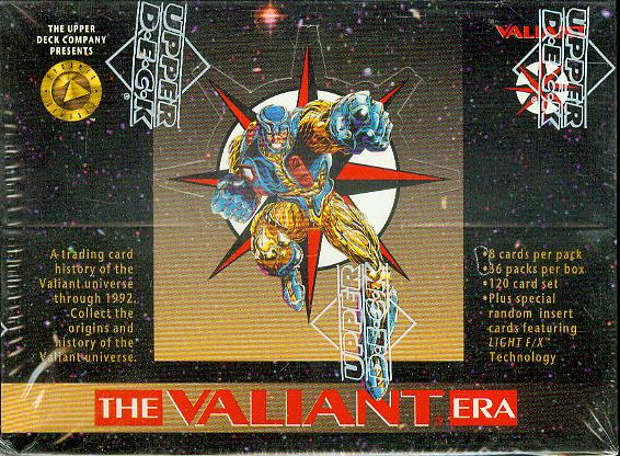 Image for The Valiant Era Trading Cards Box