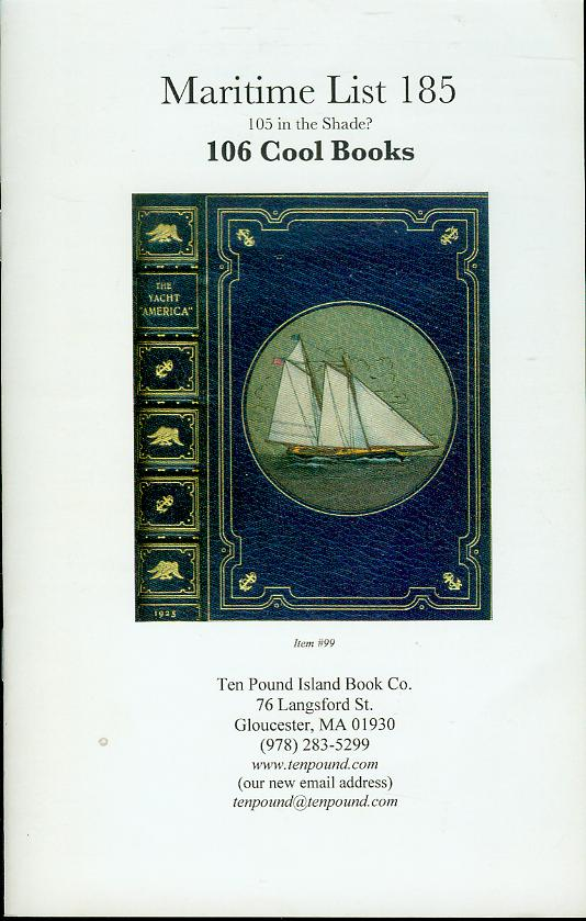 Image for Maritime List 185