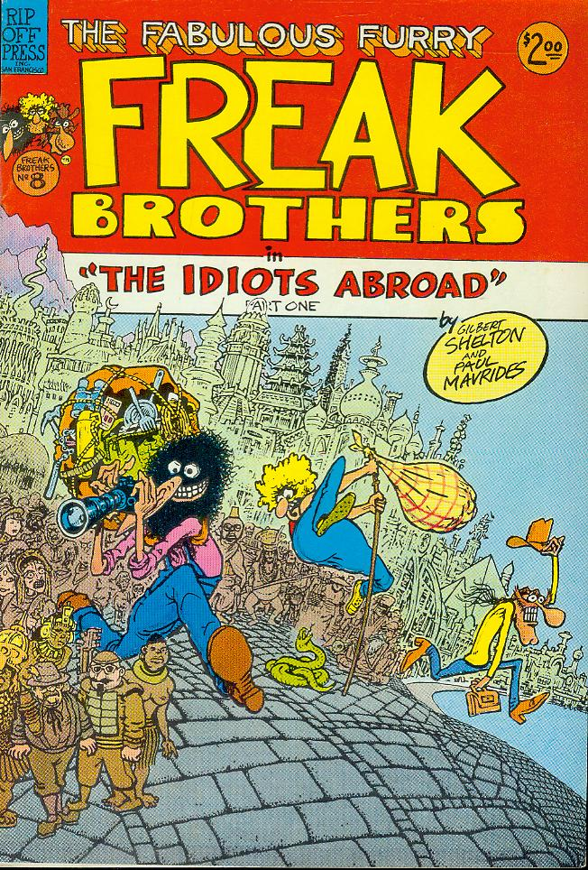 "Image for The Fabulous Furry Freak Brothers in ""The Idiots Abroad"" Part One"