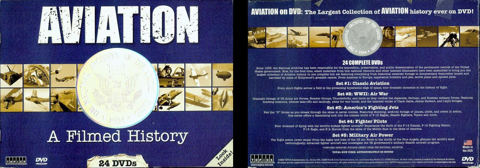Image for Aviation: A Filmed History