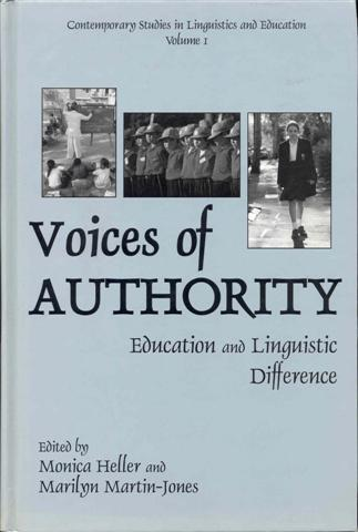Image for Voices of Authority: Education and Linguistic Difference