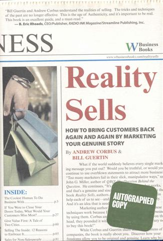 Image for Reality Sells: How to Bring Customers Back Again and Again by Marketing Your Genuine Story