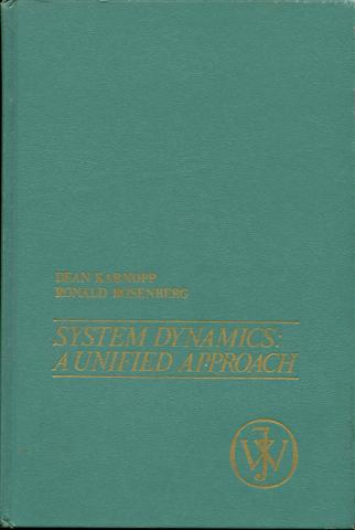 Image for System Dynamics: A Unified Approach