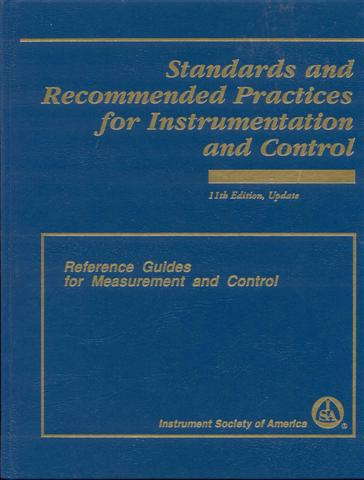 Image for Standards and Recommended Practices for Instrumentation and Control
