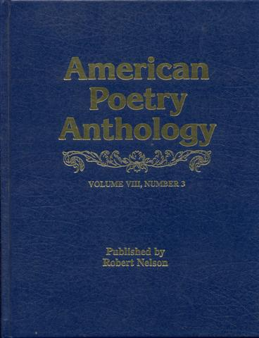 Image for The American Poetry Anthology (Vol. VIII, Number 3)