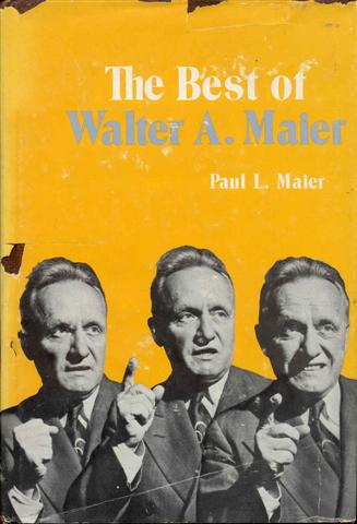Image for The Best of Walter A. Maier