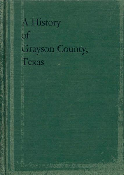 A History of Grayson County, Texas