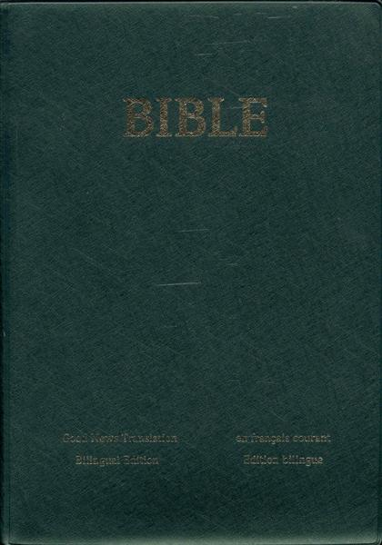 Image for BIBLE: Good News Translation, Bilingual Edition / En Francais Courant, Edition Bilingue