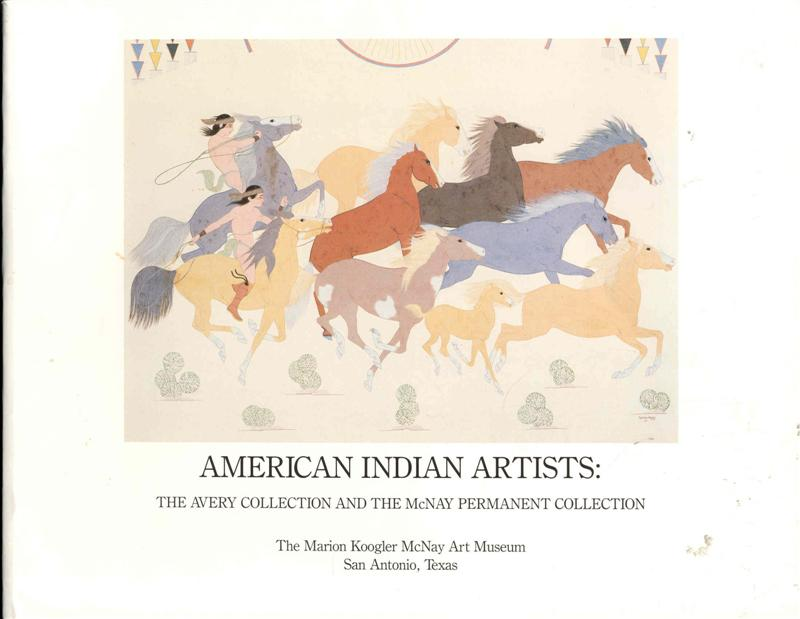 Image for American Indian Artists: The Avery Collection and the McNay Permanent Collection