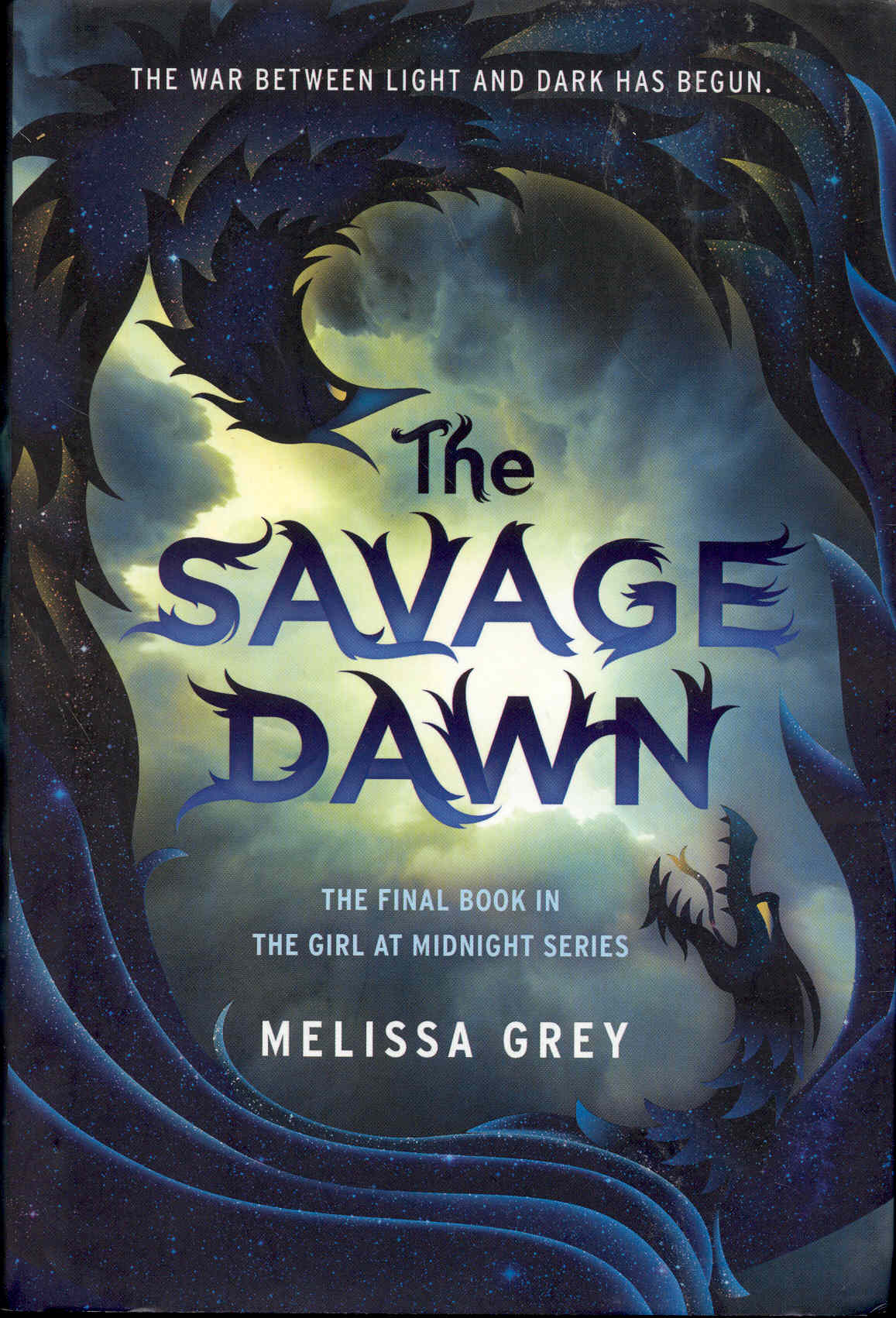 Image for The Savage Dawn (The Girl at Midnight, Book 3)