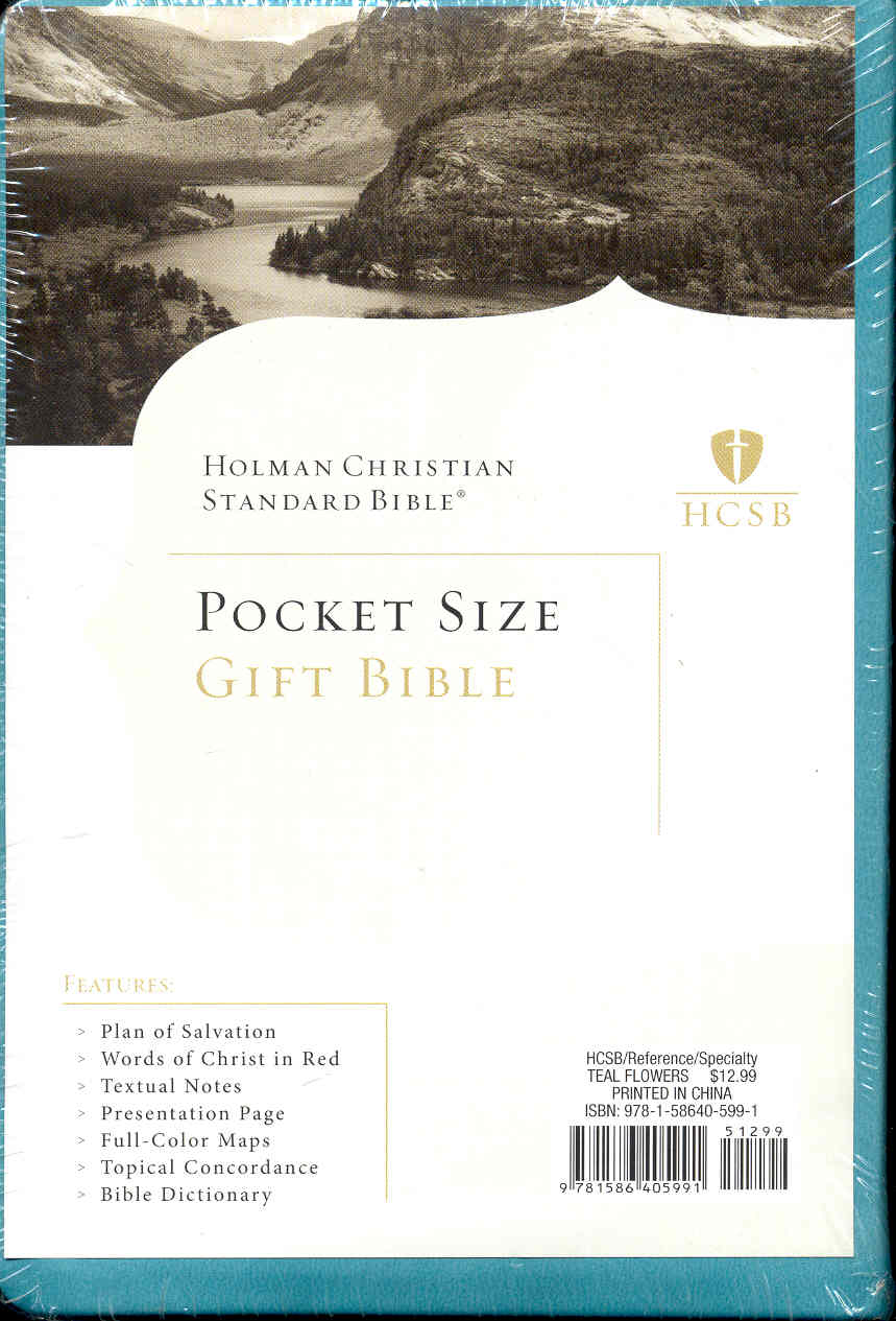 Image for HCSB (Holman Christian Standard Bible) Pocket Size Gift Bible