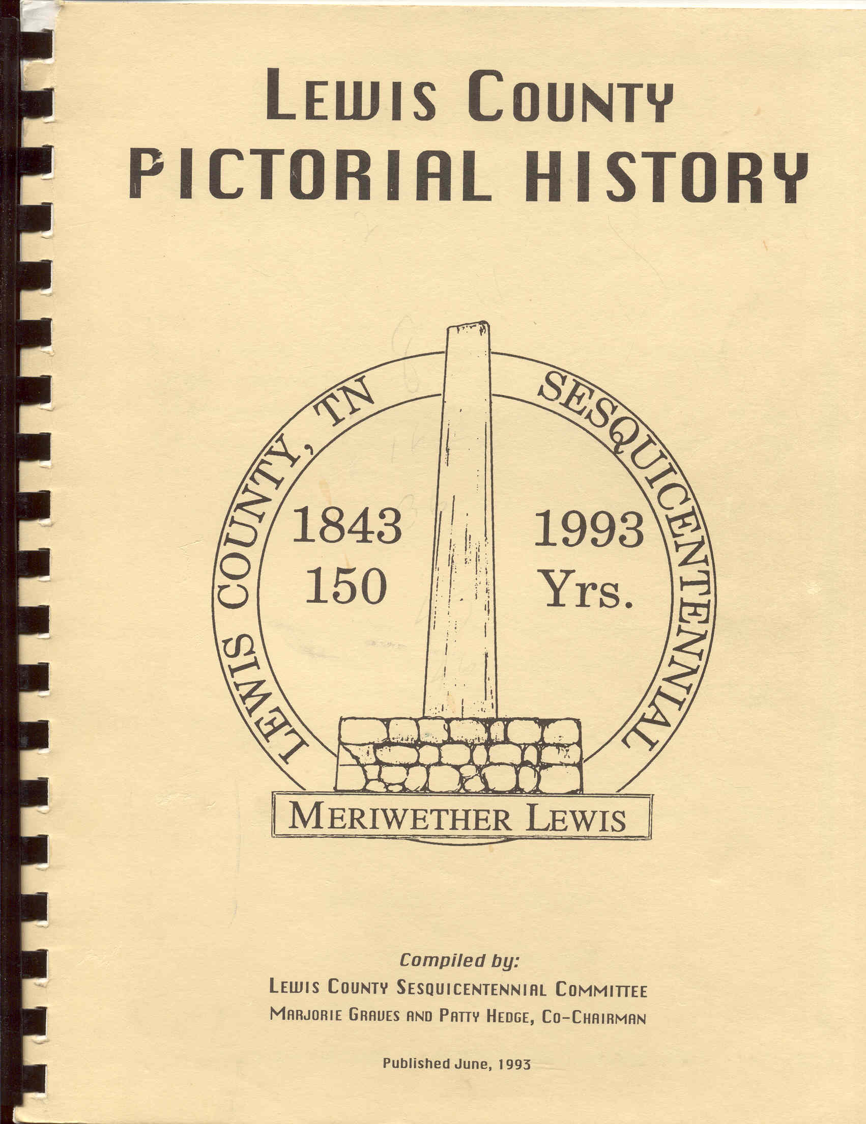 Image for Lewis County Pictorial History 1843-1993