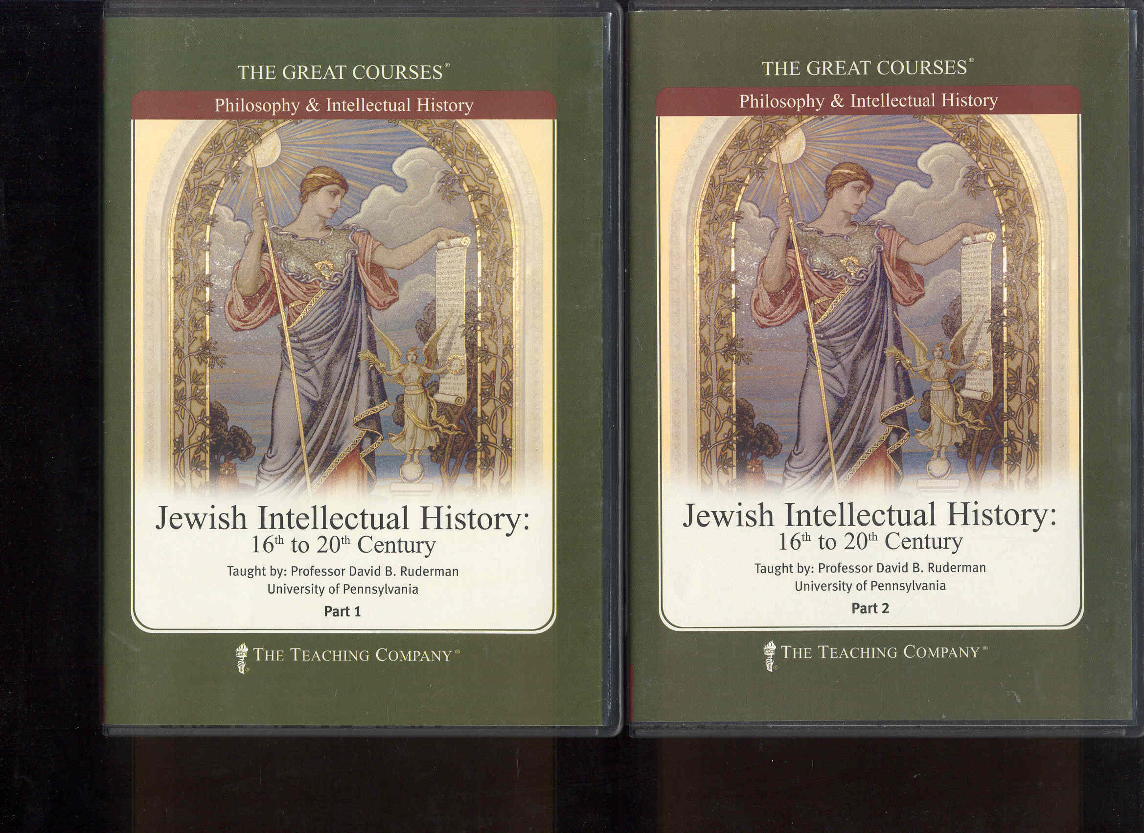 Image for Jewish Intellectual History: 16th to 20th Century (Parts 1 & 2)
