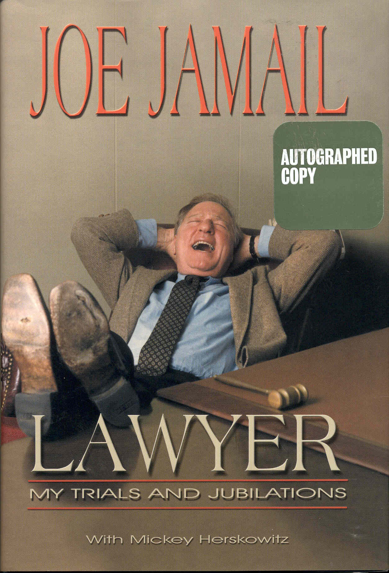 Image for Lawyer: My Trials and Jubilations