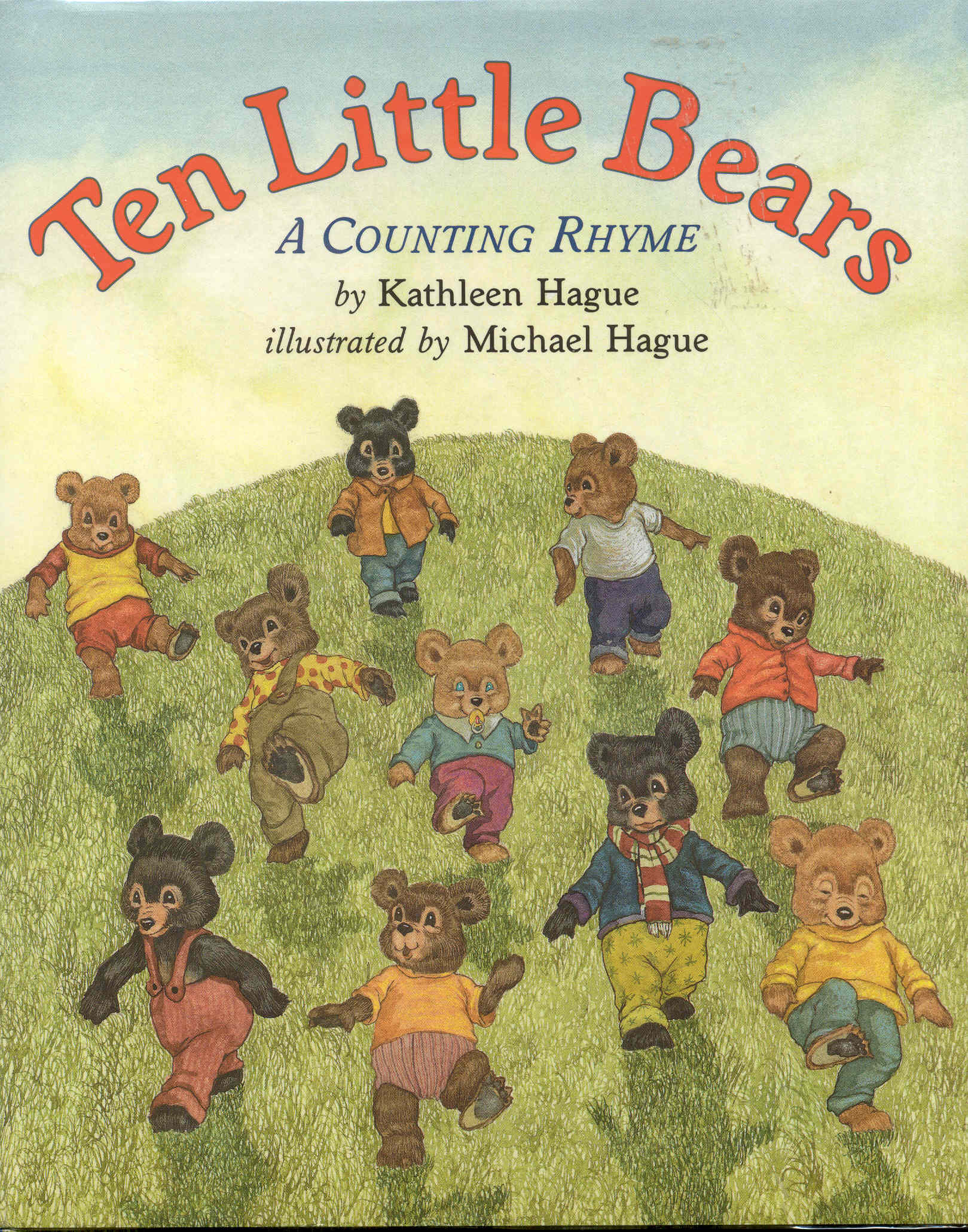 Image for Ten Little Bears: A Counting Rhyme