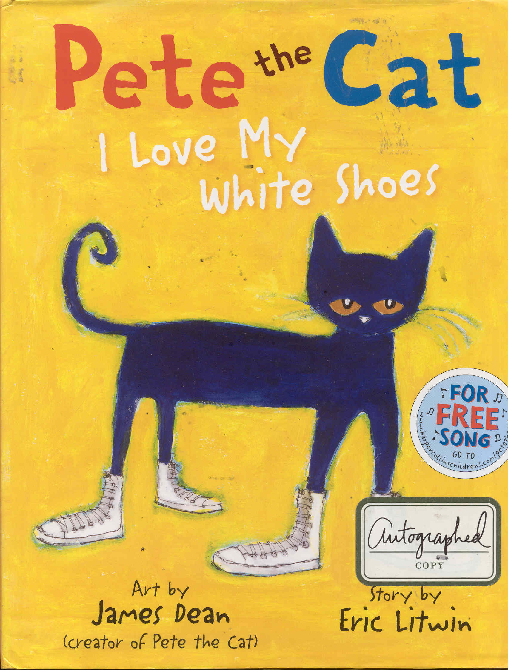 Image for Pete the Cat: I Love My White Shoes