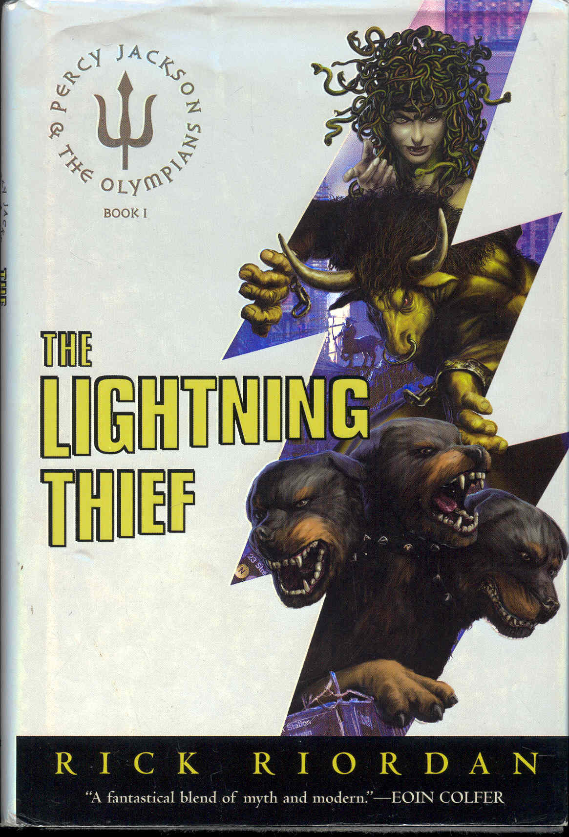 Image for The Lightning Thief (Percy Jackson And The Olympians, Book One)