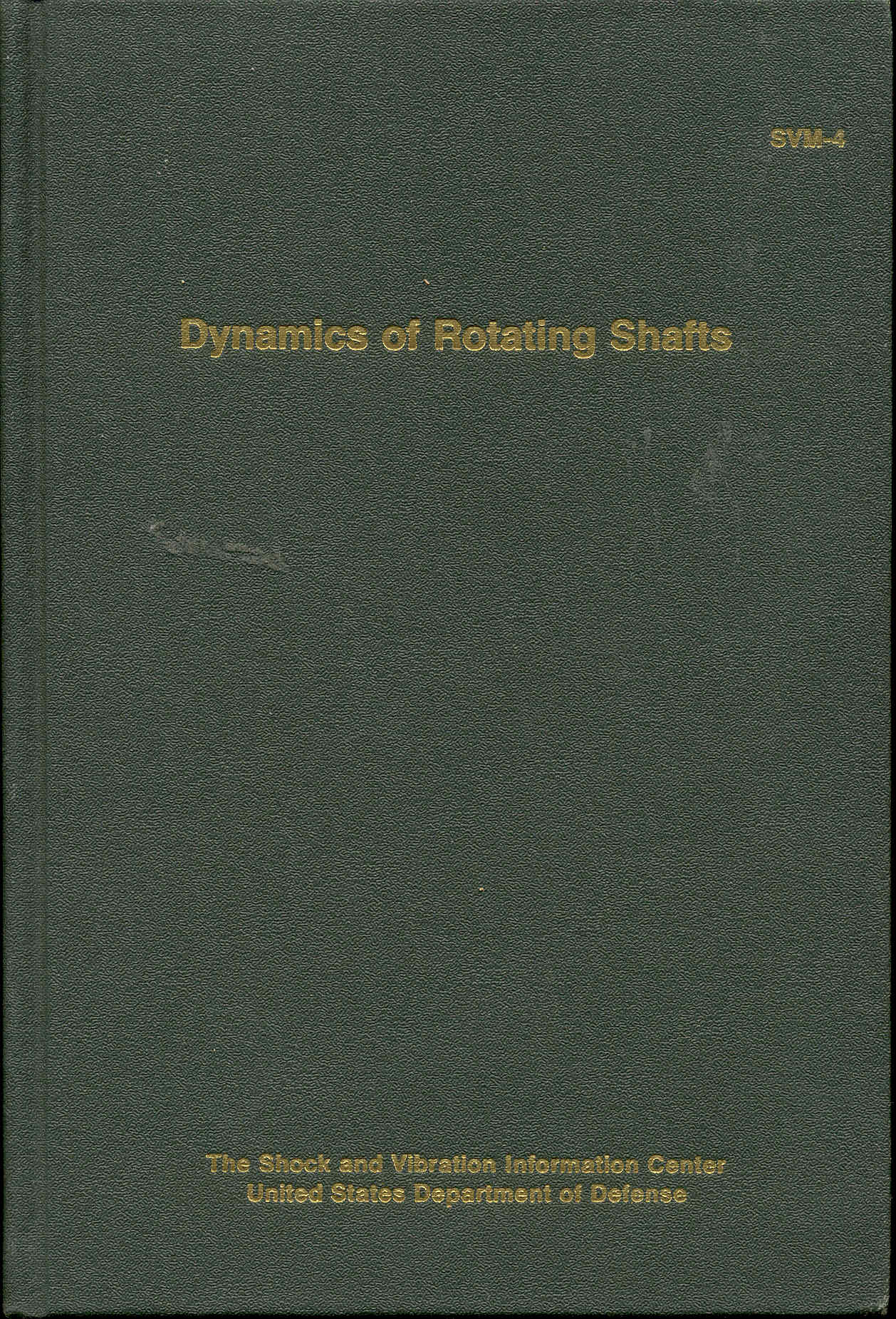 Image for Dynamics of Rotating Shafts