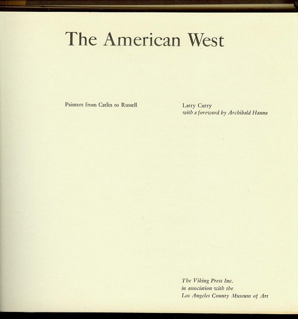 Image for The American West