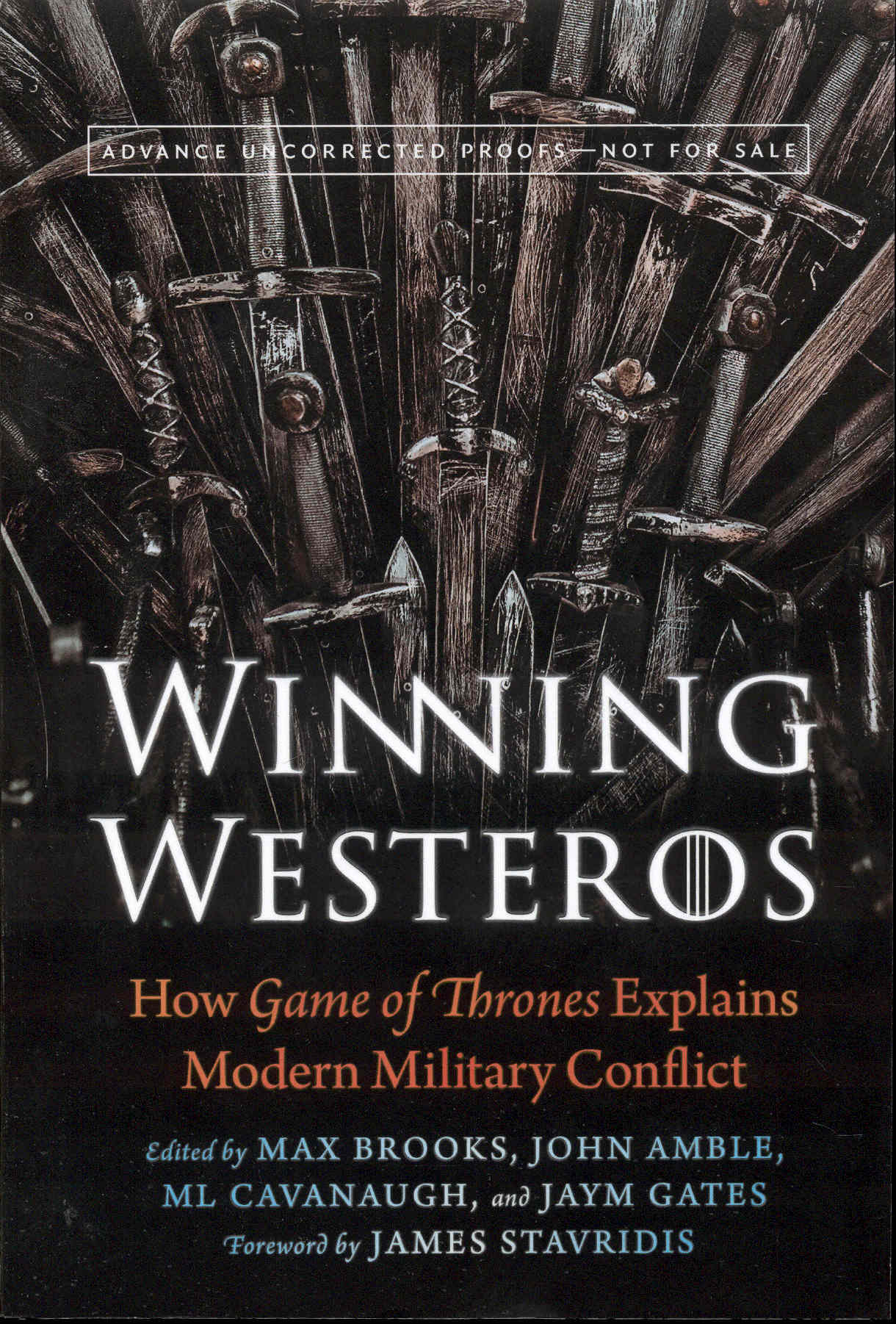 Image for Winning Westeros: How Game of Thrones Explains Modern Military Conflict