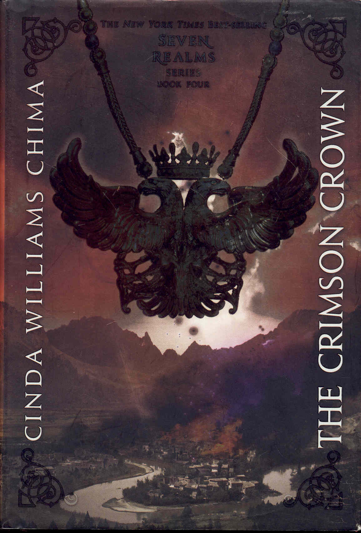 Image for The Crimson Crown (Seven Realms, Book 4)