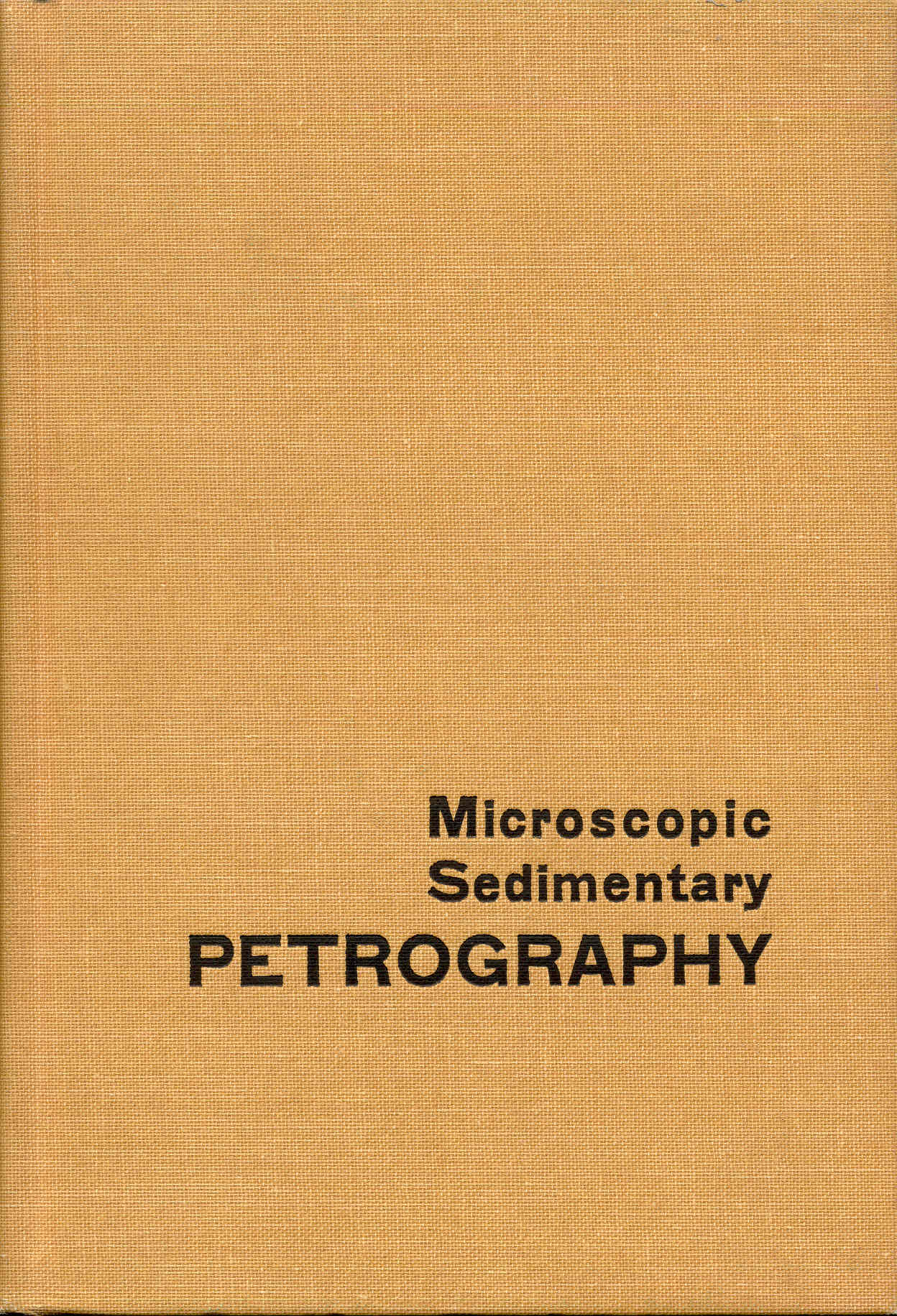 Image for Microscopic Sedimentary Petrography