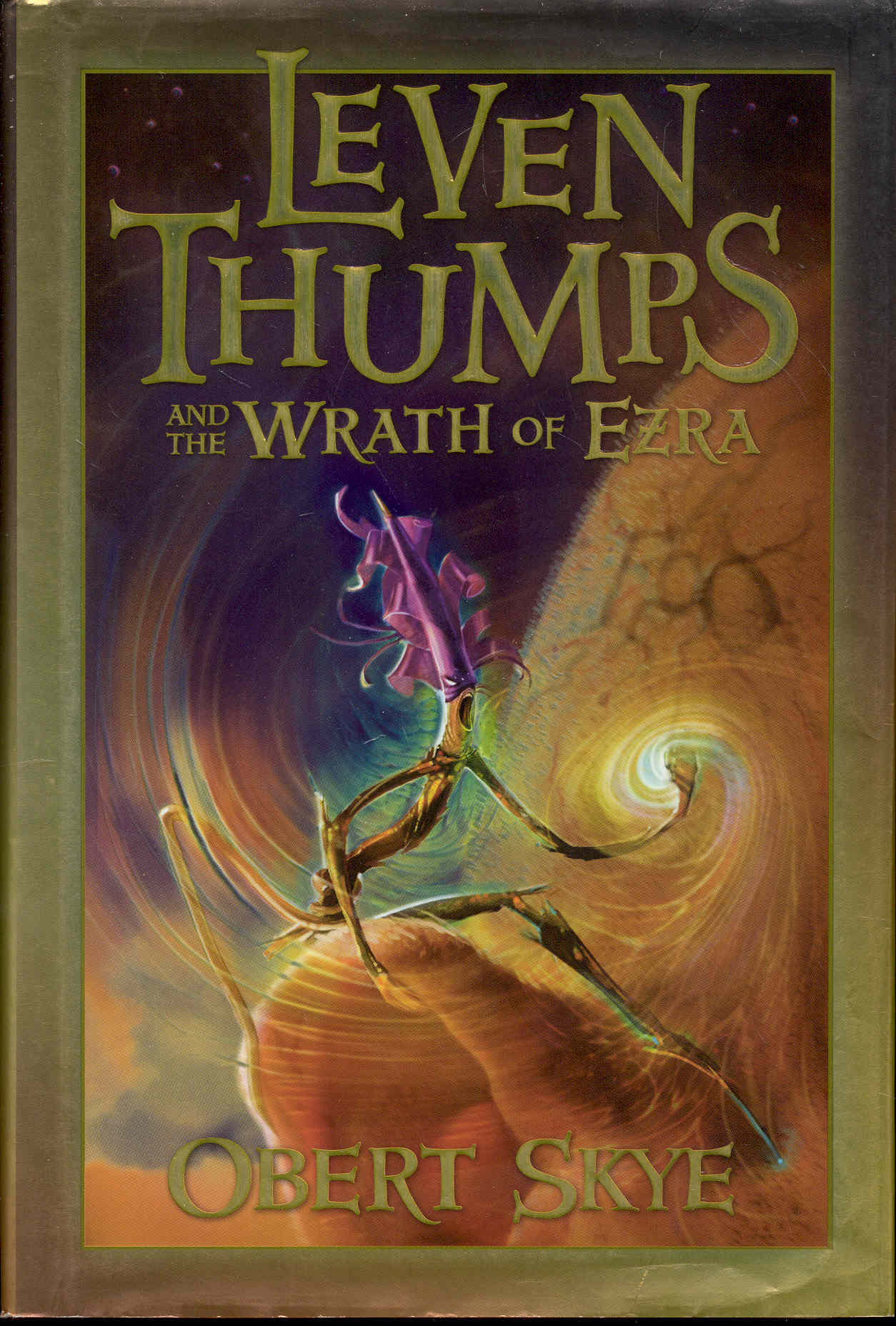 Image for Leven Thumps and the Wrath of Ezra