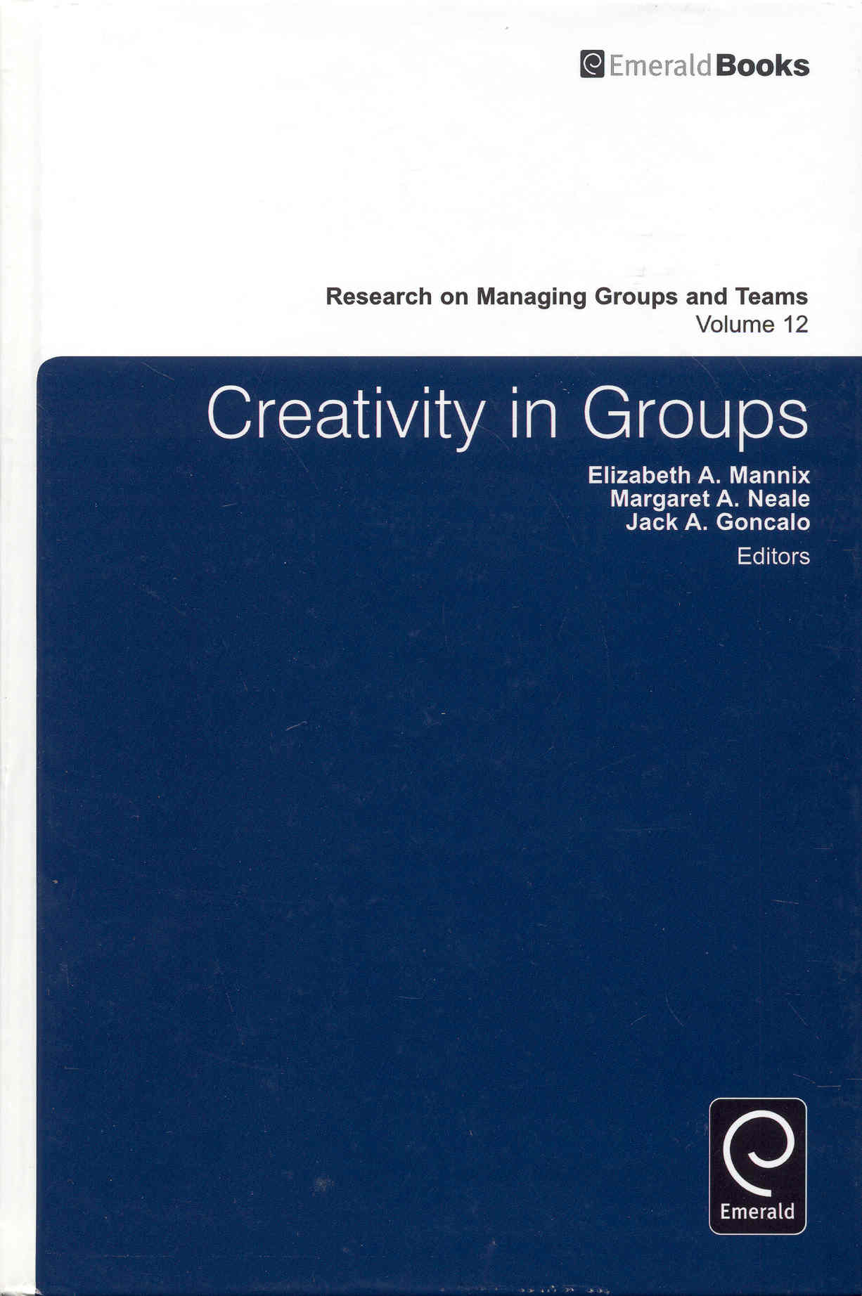 Image for Creativity in Groups