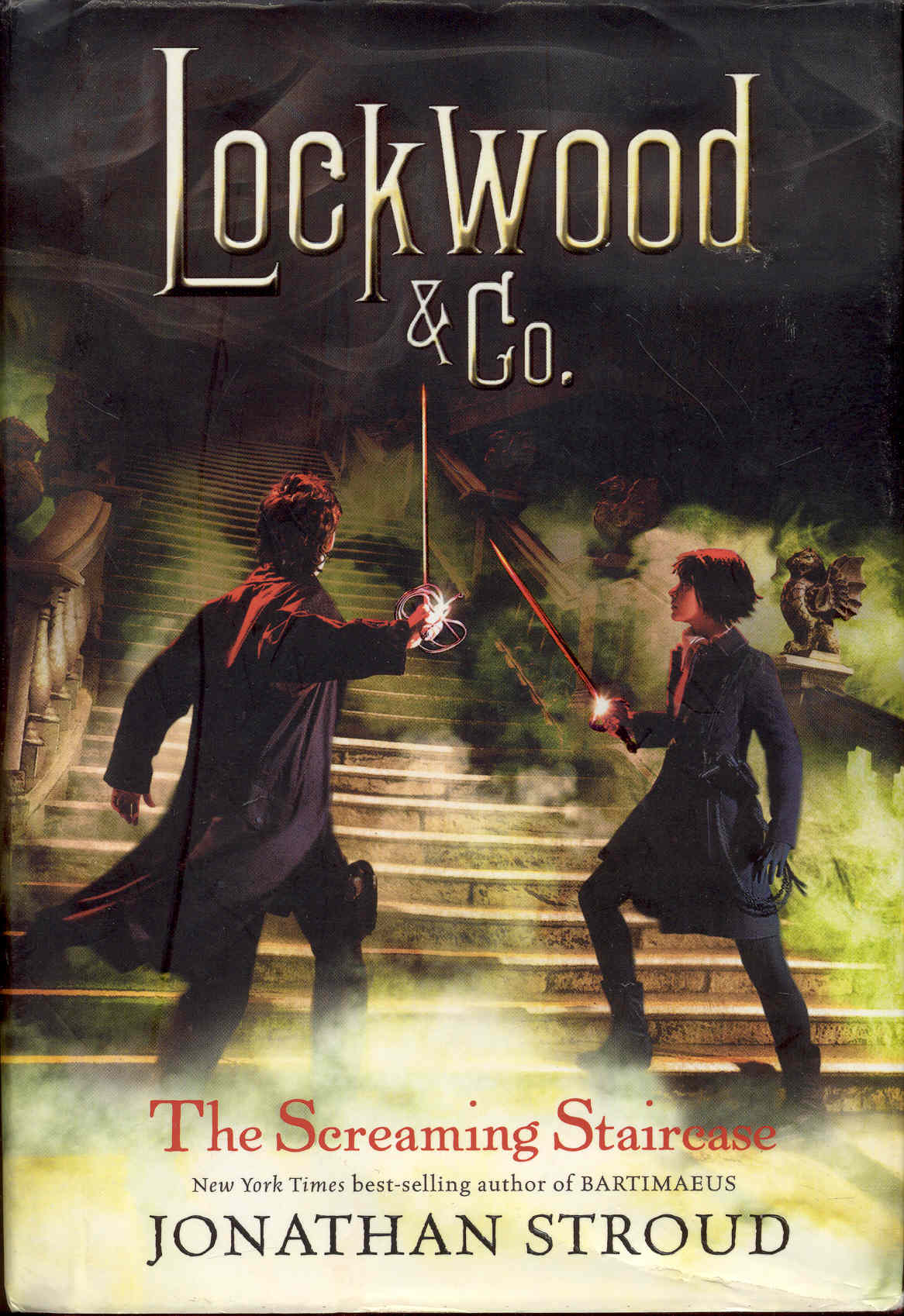 Image for The Screaming Staircase (Lockwood & Co., Book 1)