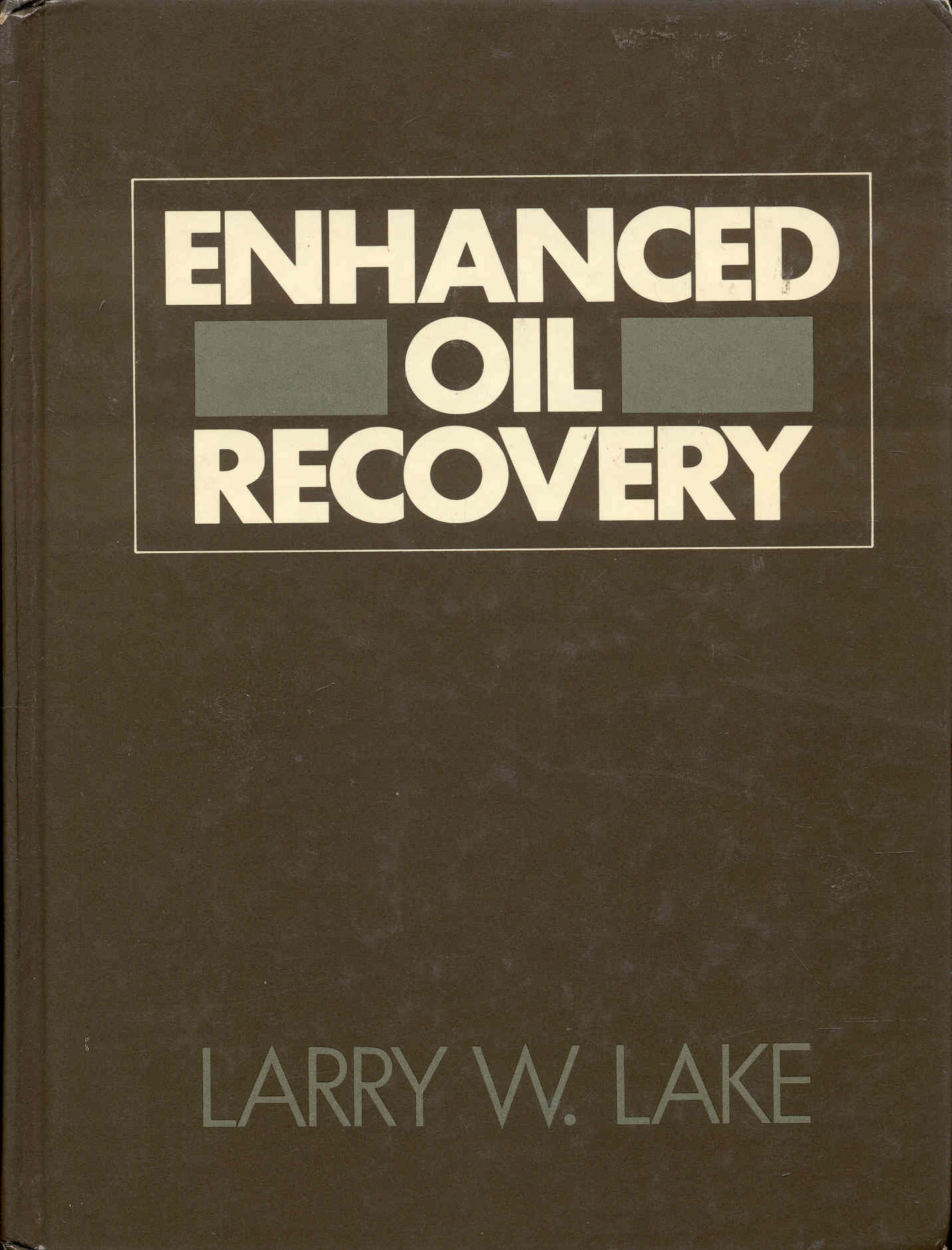 Image for Enhanced Oil Recovery