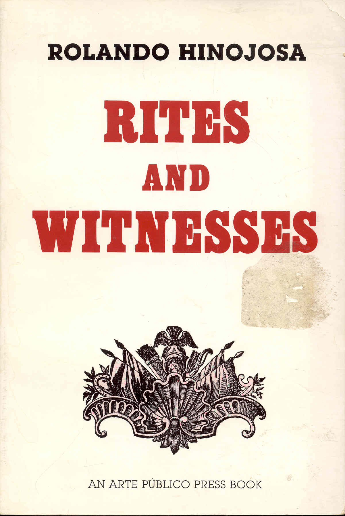 Image for Rites and Witnesses