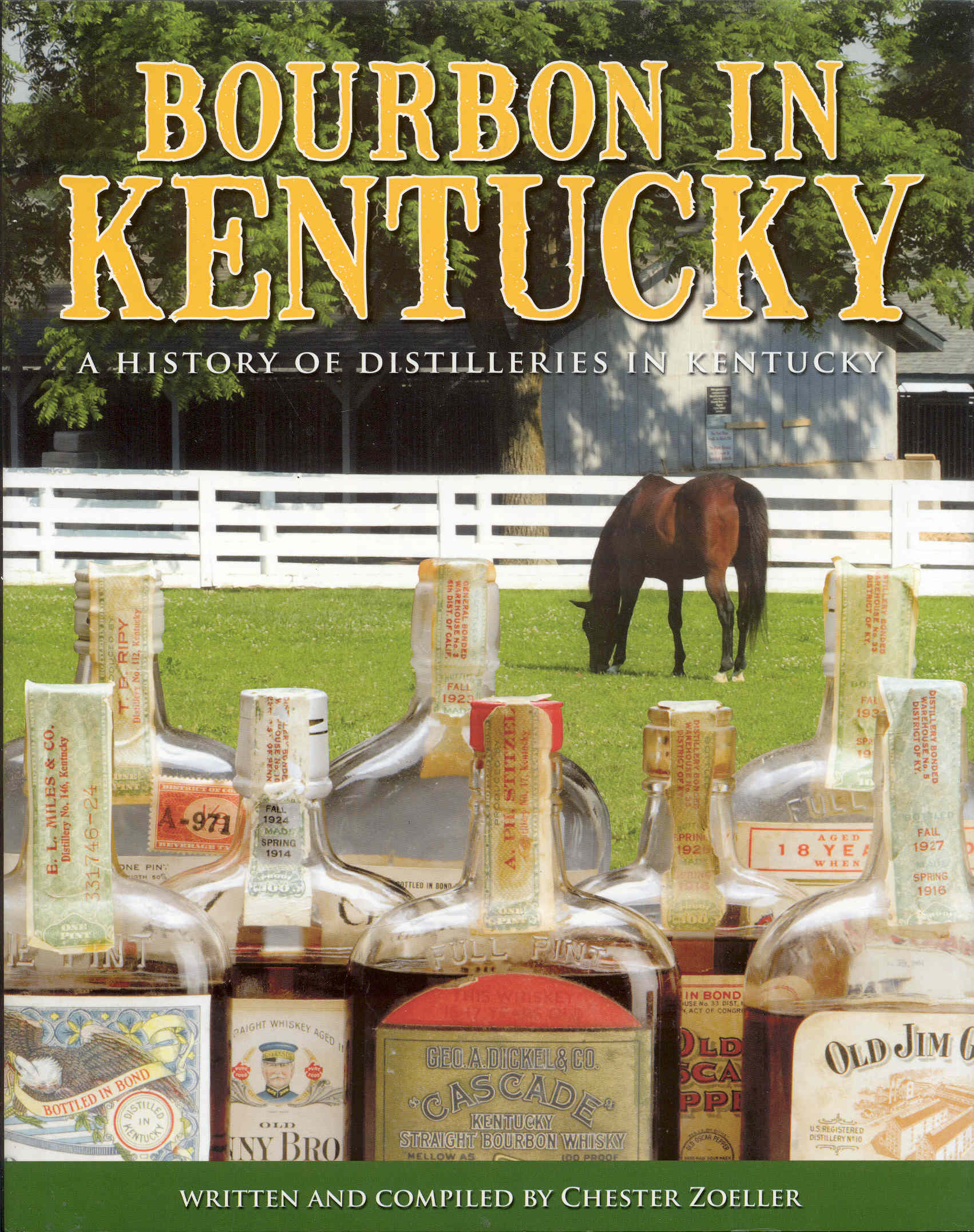 Image for Bourbon in Kentucky: A History of Distilleries in Kentucky