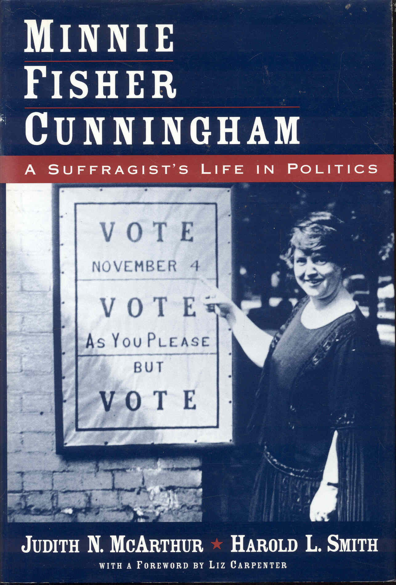 Image for Minnie Fisher Cunningham: A Suffragist's Life in Politics
