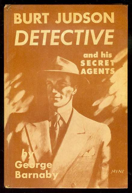 Image for Burt Judson, Detective and His Secret Agents