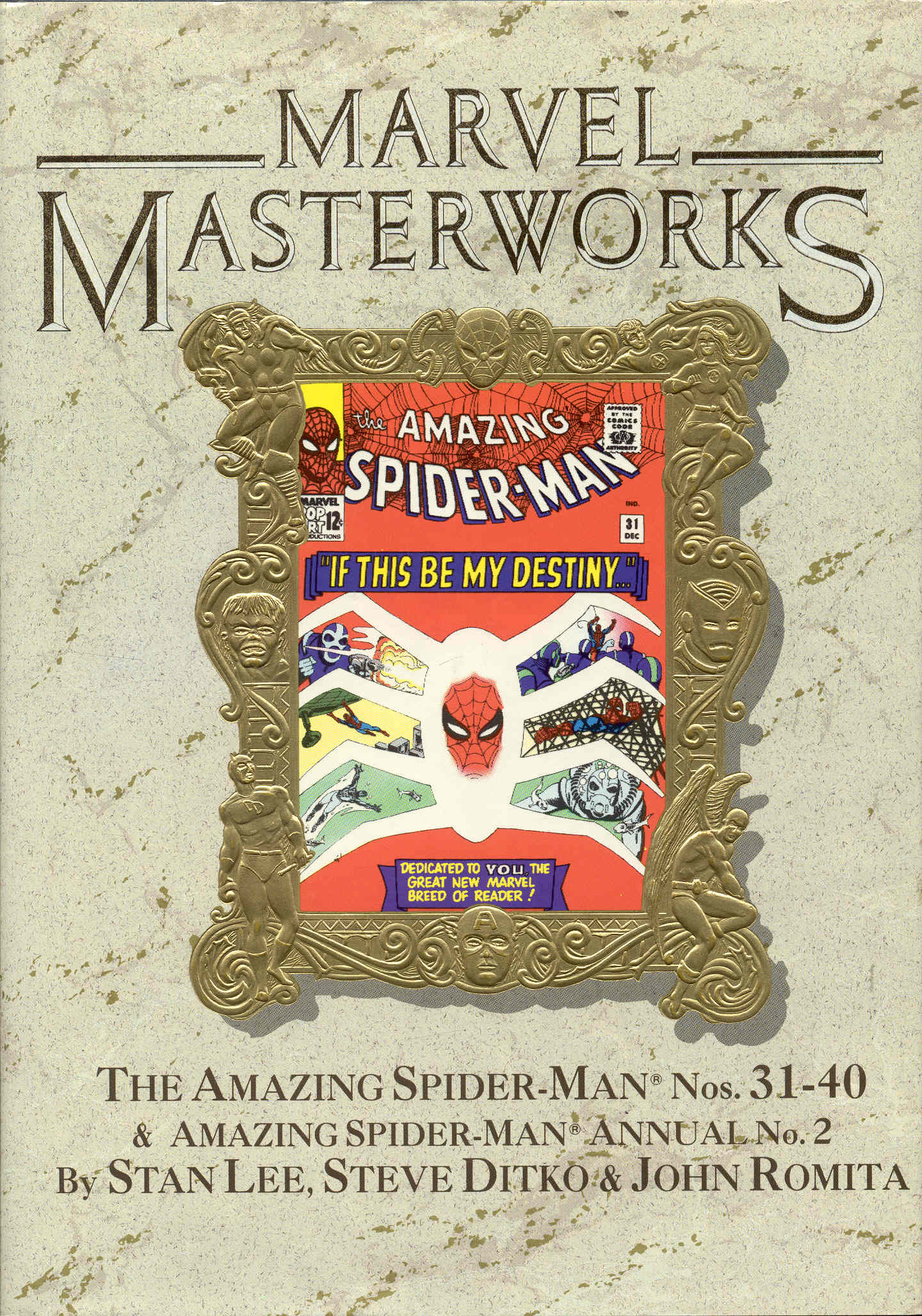 Image for Marvel Masterworks Volume 16: The Amazing Spider-Man Nos. 31-40 & Annual No. 2