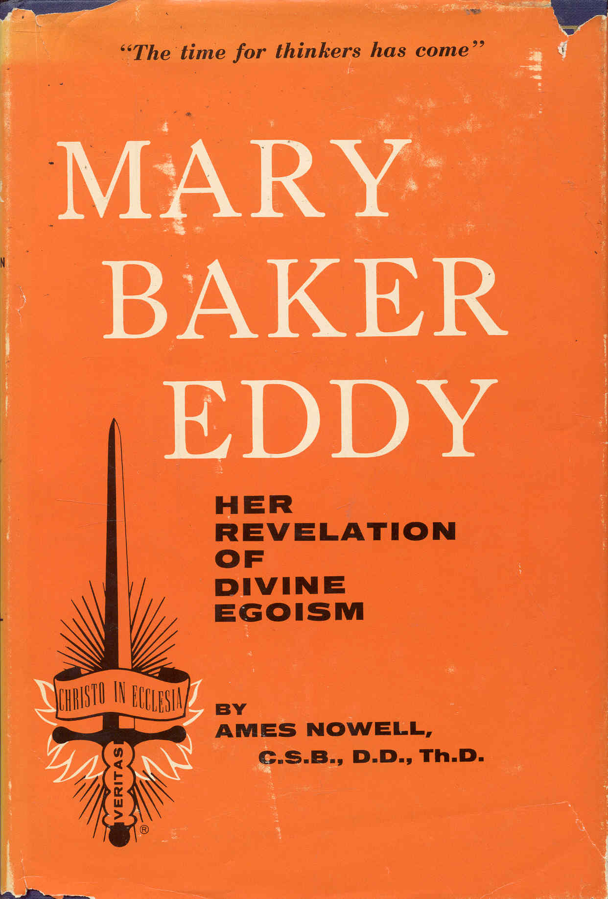Image for Mary Baker Eddy: Her Revelation of Divine Egoism