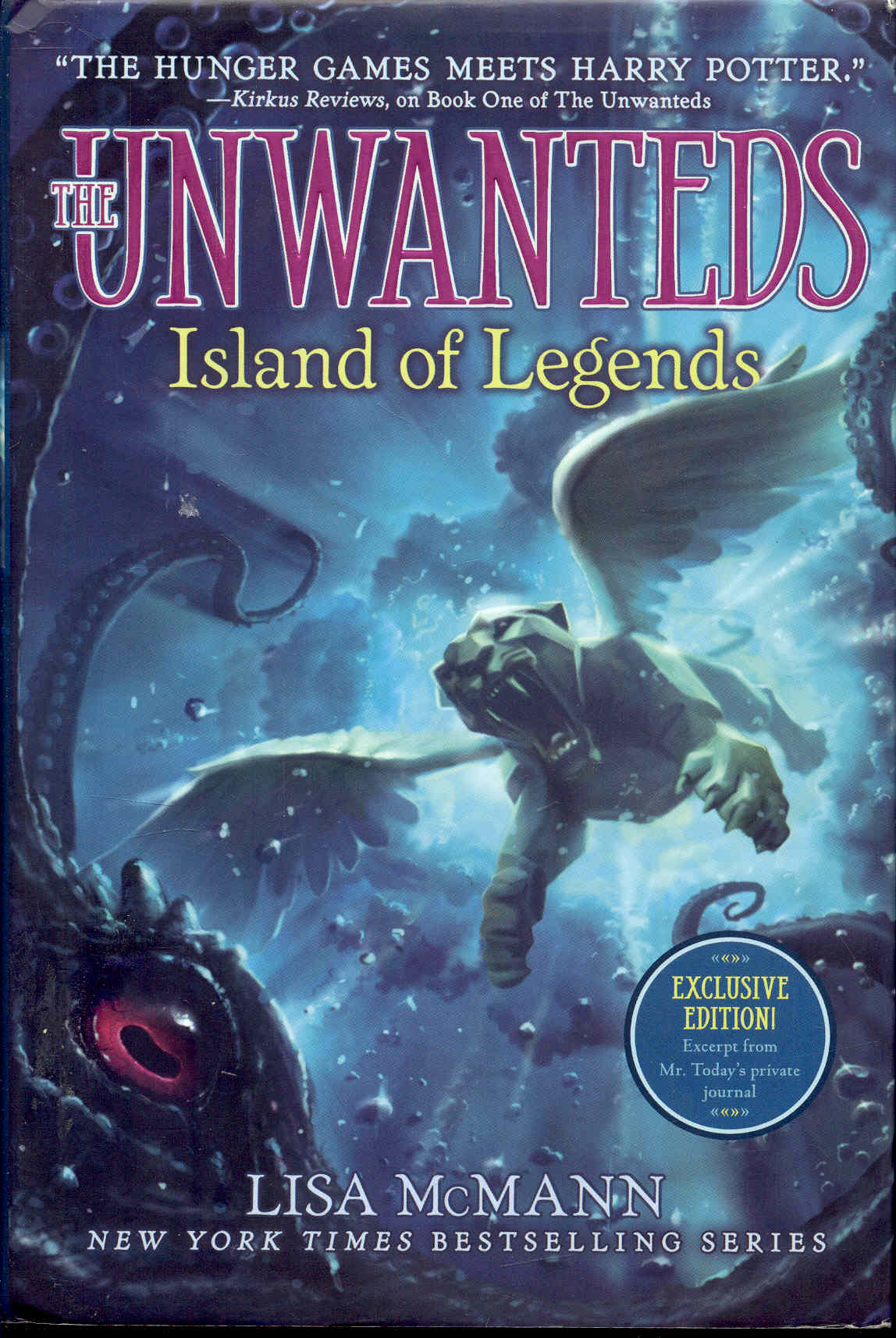 Image for Island of Legends (The Unwanteds, Book 4)