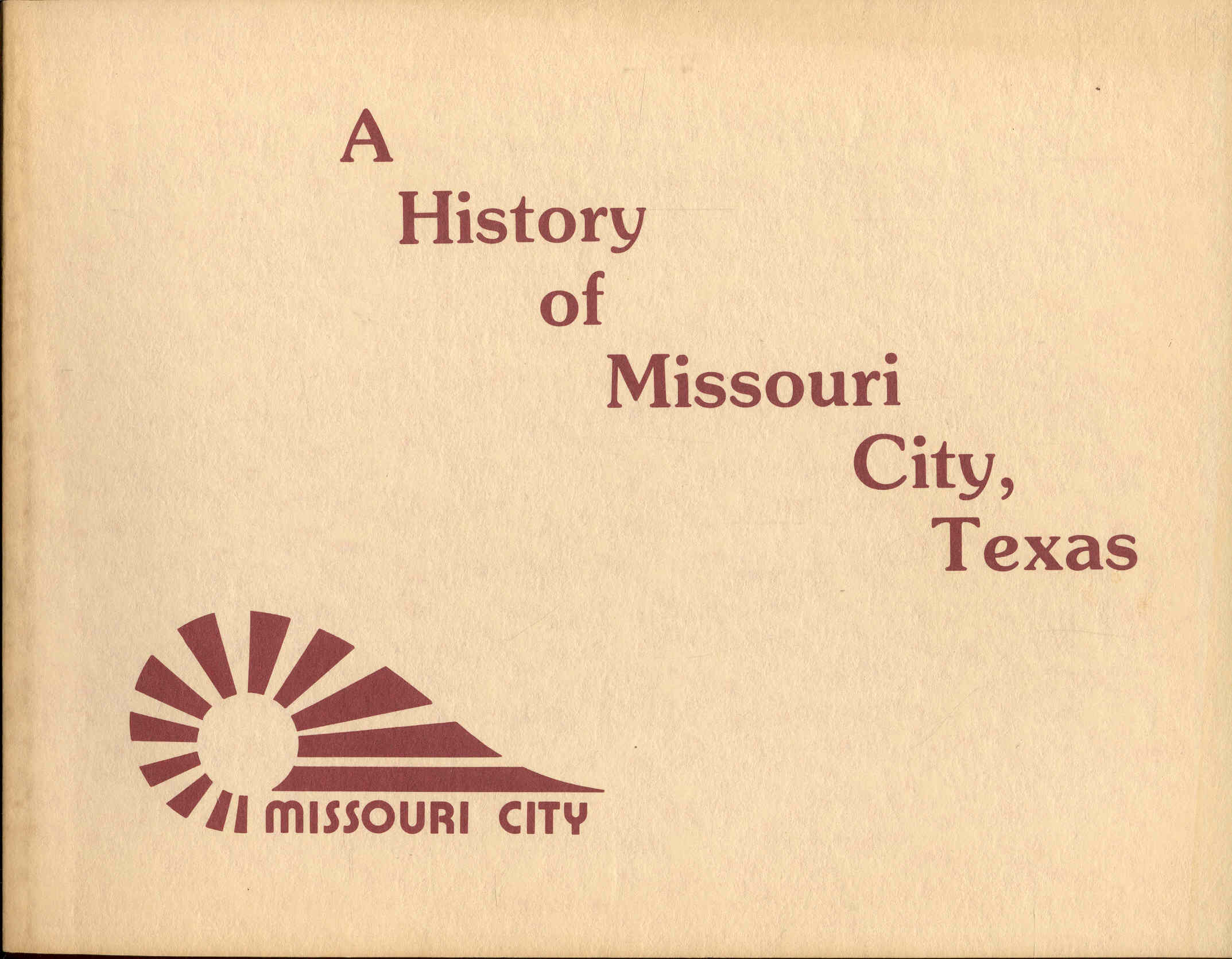 Image for A History of Missouri City, Texas