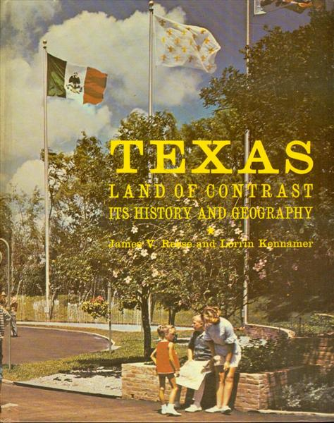 Image for Texas: Land of Contrast (Its History and Geography)