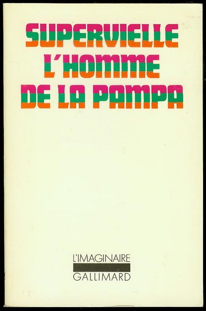 Image for L'homme de la Pampa (Man of the Pampa)
