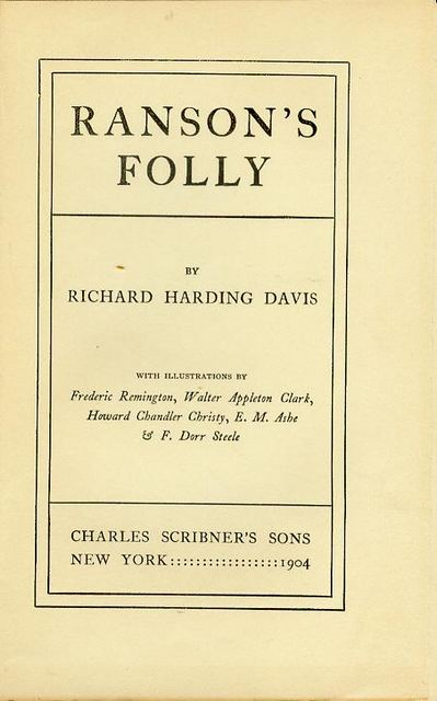 Image for Ranson's Folly