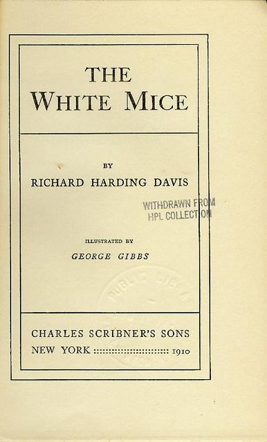 Image for The White Mice