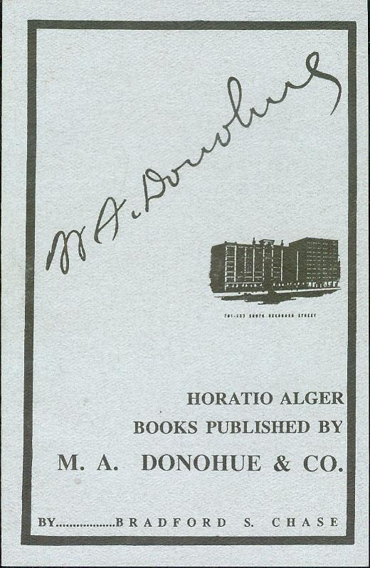 Image for Horatio Alger Books: Published by M. A. Donohue & Co.