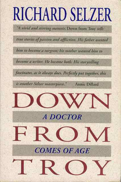 Image for Down from Troy: A Doctor Comes of Age