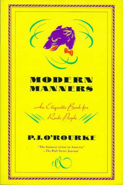 Image for Modern Manners: An Etiquette Book for Rude People
