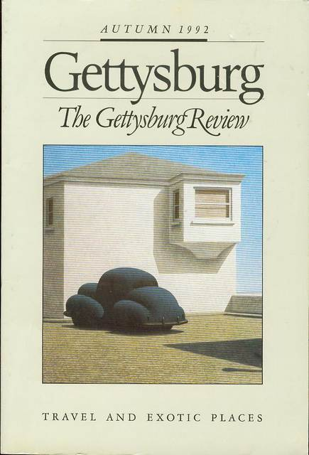Image for The Gettysburg Review Volume 5 Number 4 Autumn 1992